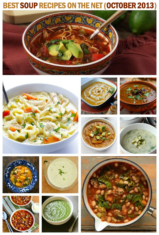 Best Soup Recipes on the Net (October 2013)