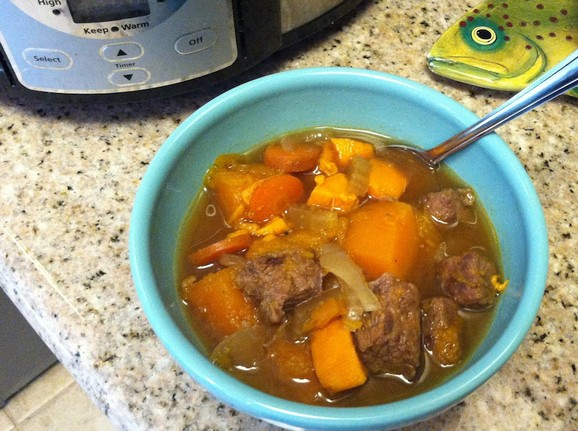 Beef and Butternut Stew recipe photo