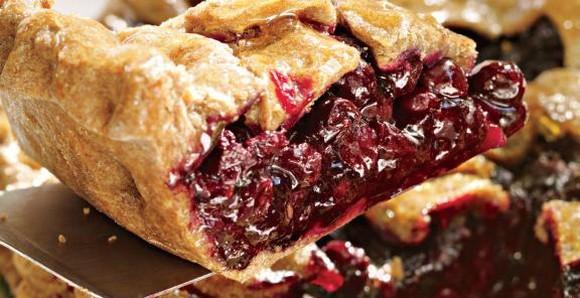 Blueberry Pie with Tapioca recipe photo