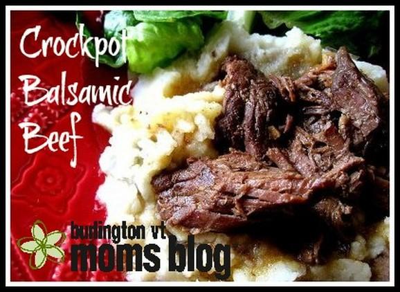 Crockpot Balsamic Beef recipe photo