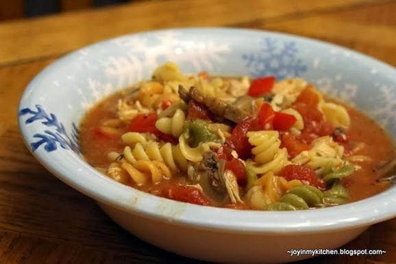 Crockpot Chicken Parmesan Soup recipe photo