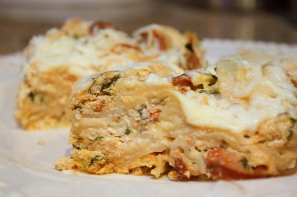 Easy Crockpot Lasagna recipe photo