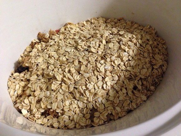 GlutenFree Overnight Crockpot Oatmeal recipe photo