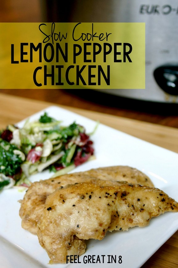 Slow Cooker Lemon Pepper Chicken recipe photo
