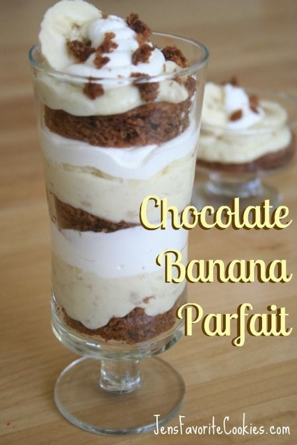 Chocolate Banana Parfait recipe photo