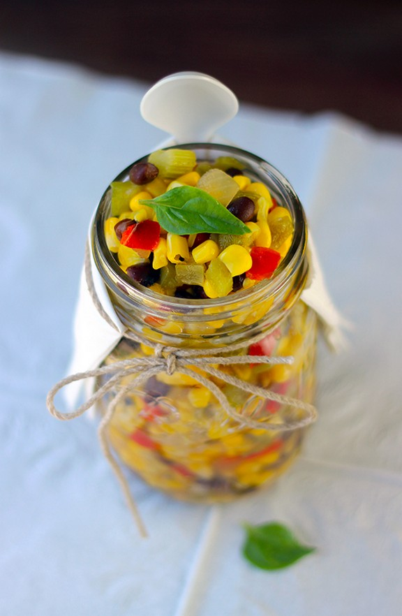Easy Cold Vegetable Salad recipe