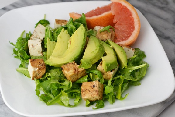 Grilled Tofu Salad recipe