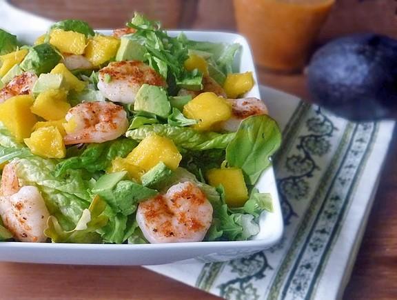 Mango Avocado Shrimp Salad recipe