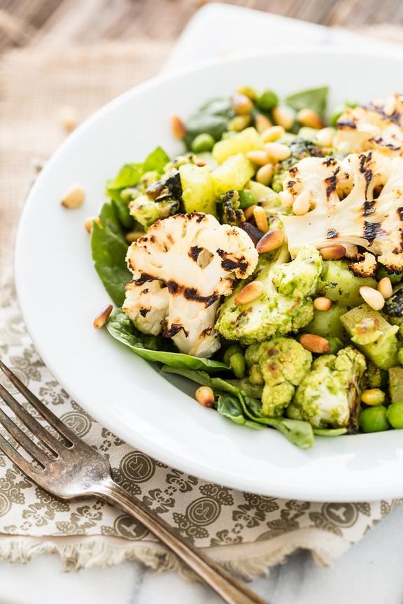 Pesto Cauliflower & Potato Salad recipe