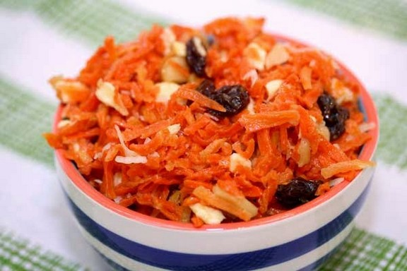 Tropical Carrot Salad recipe