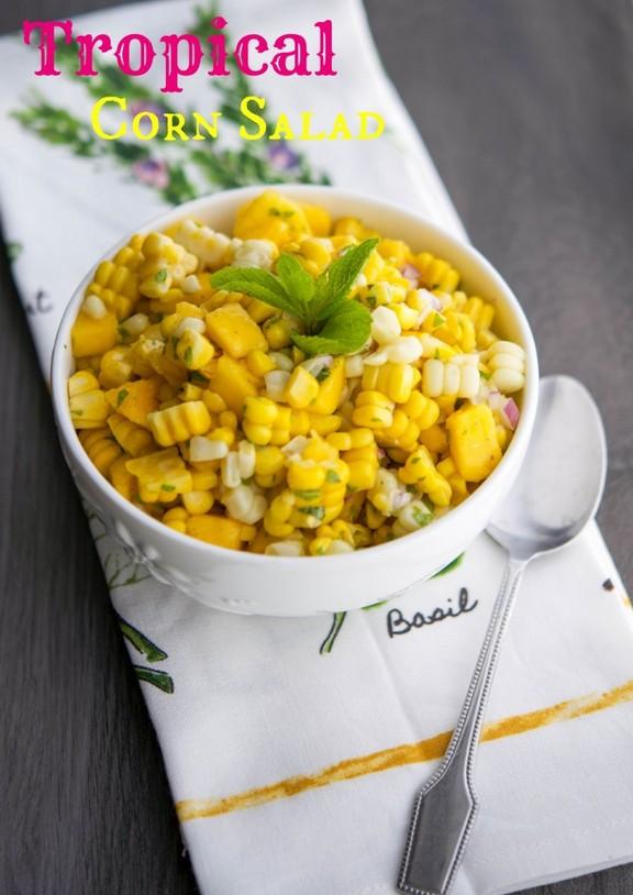 Tropical Corn Salad recipe