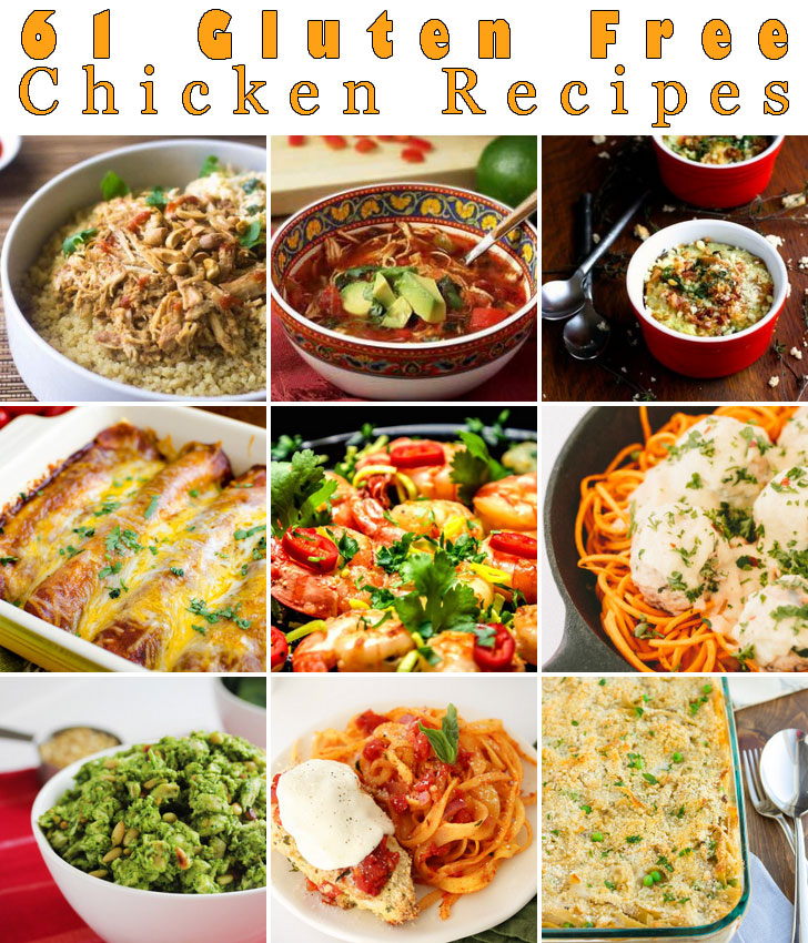 61 gluten free chicken recipes