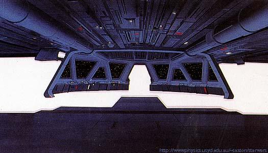 3d Galactic Wallpaper Star Wars Bridge Towers