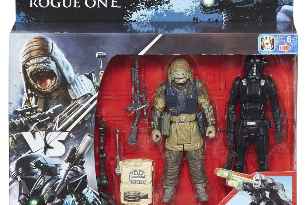 "Black Friday ? Brand New 3.75"" Rogue One Action Figures And Stormtrooper"