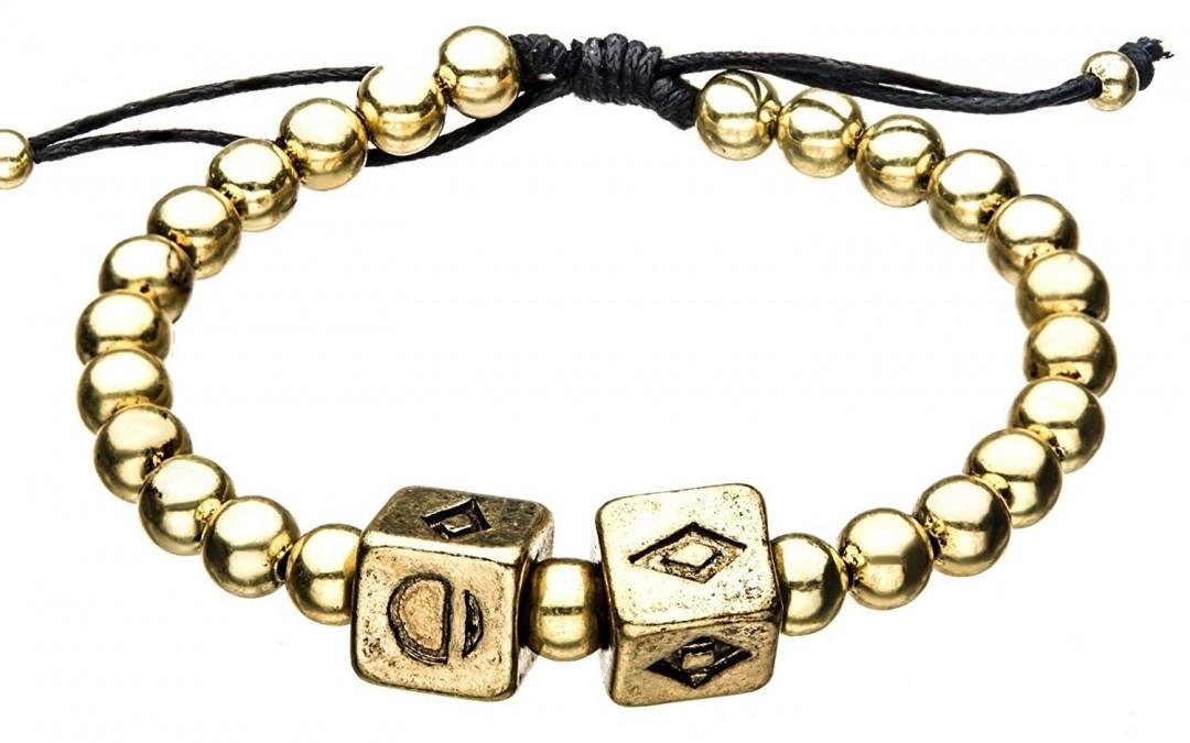 New Solo Movie Gold Dice Symbol Charm Bracelet Now In Stock