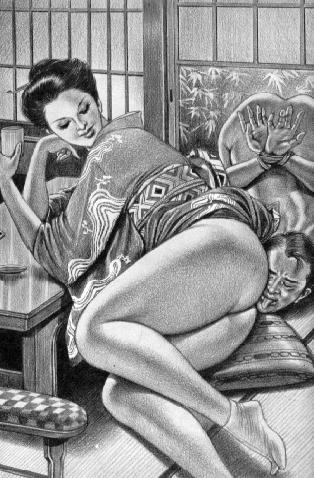 vintage lesbian enema