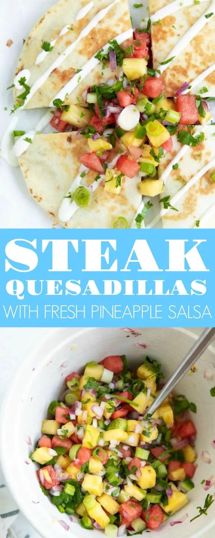 Large Of Steak Quesadilla Recipe
