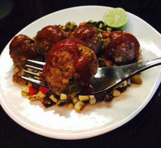 Mexican Inspired Meatballs