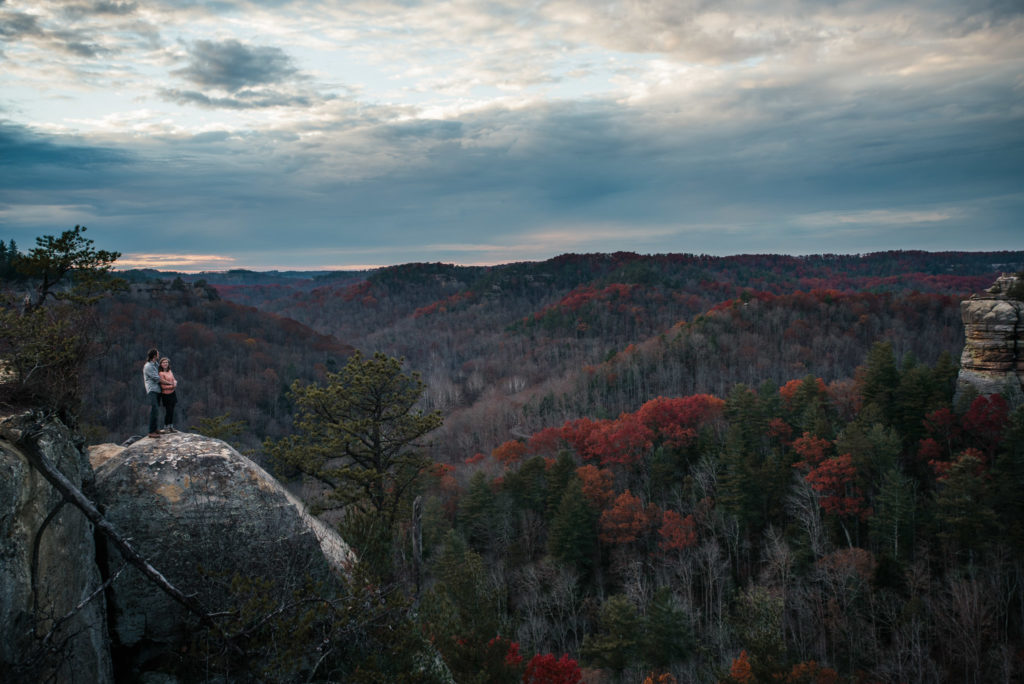 Red River Gorge Adventure Session At Chimney Top The Foxes