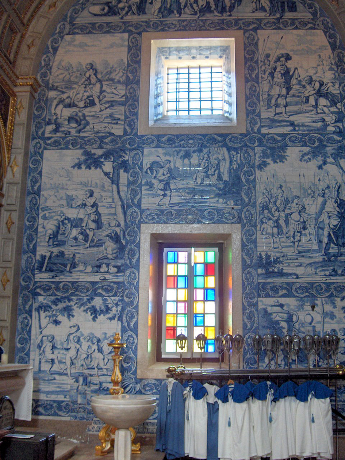 Azulejos Pinto Cataloguing Baroque Azulejo Frames A Project In Progress The