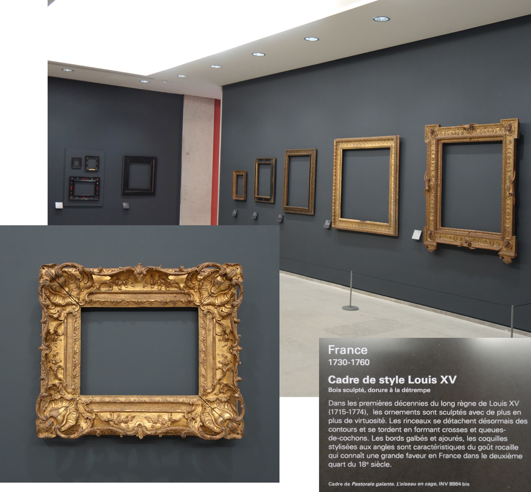 Montage Photo Cadre Multiple The Exhibition Regards Sur Les Cadres And The Frame Collection Of