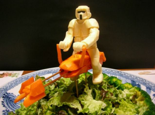 Vegetable Star Wars