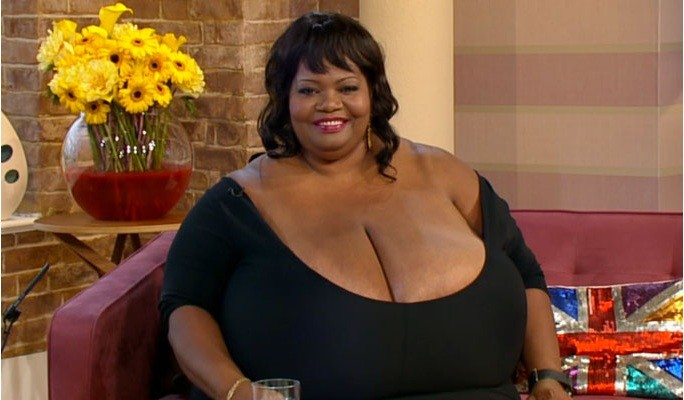 The world's largest natural breasts
