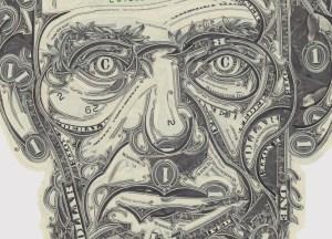 dollar bill art lincoln