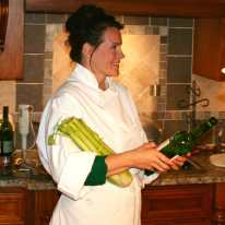 Chef Missy cooks for U.S. Foods Executive