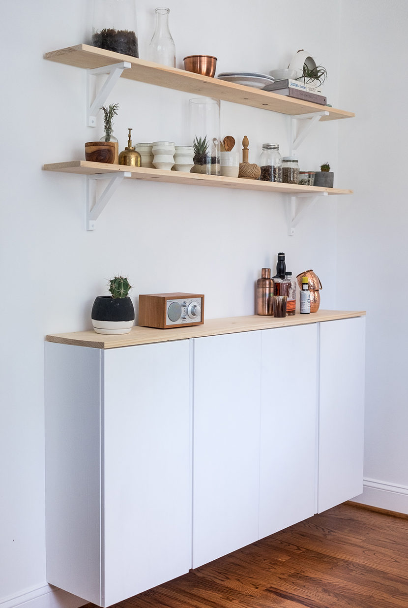 diy ikea hack kitchen kitchen cabinets ikea DIY Ikea Kitchen Cabinet The Fresh Exchange