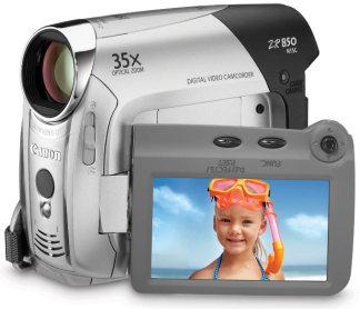 Canon ZR850 - 1