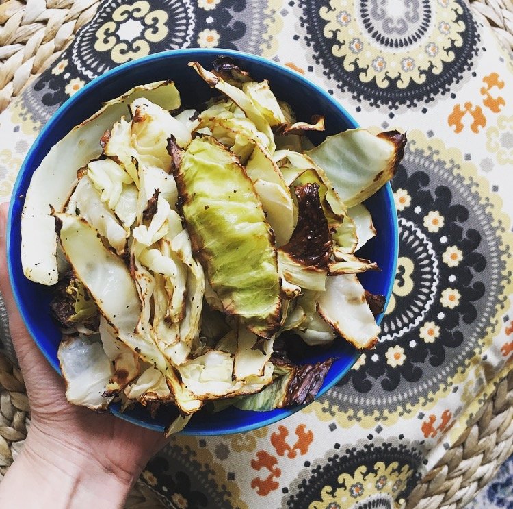 Roasted Cabbage (+benefits)
