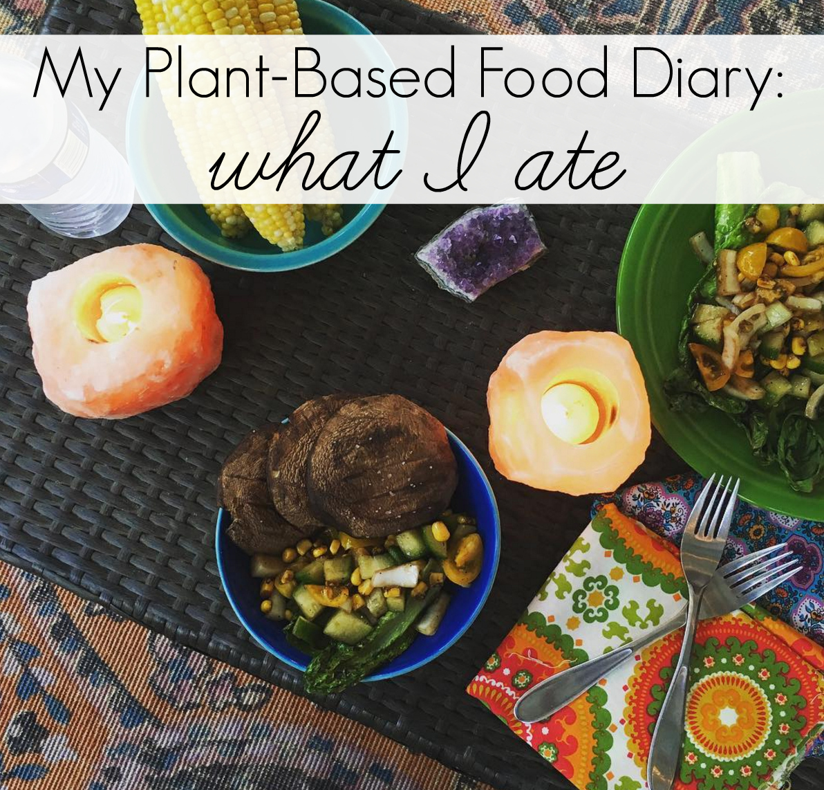 My Plant-Based Food Diary: What I Ate