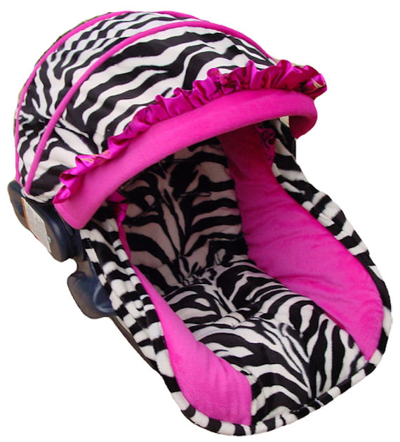 Maxi Cosi Headrest Pillow Baby Wild Zebra Funky Infant Car Seat Cover The Frog And