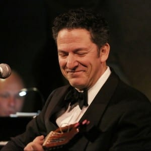 John Pizzarelli, Bossa Nova II, Cafe Carlyle; photo by Mireya Acierto.