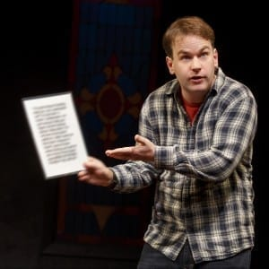 Thank God for Jokes; Mike Birbiglia; Photo by Joan Marcus