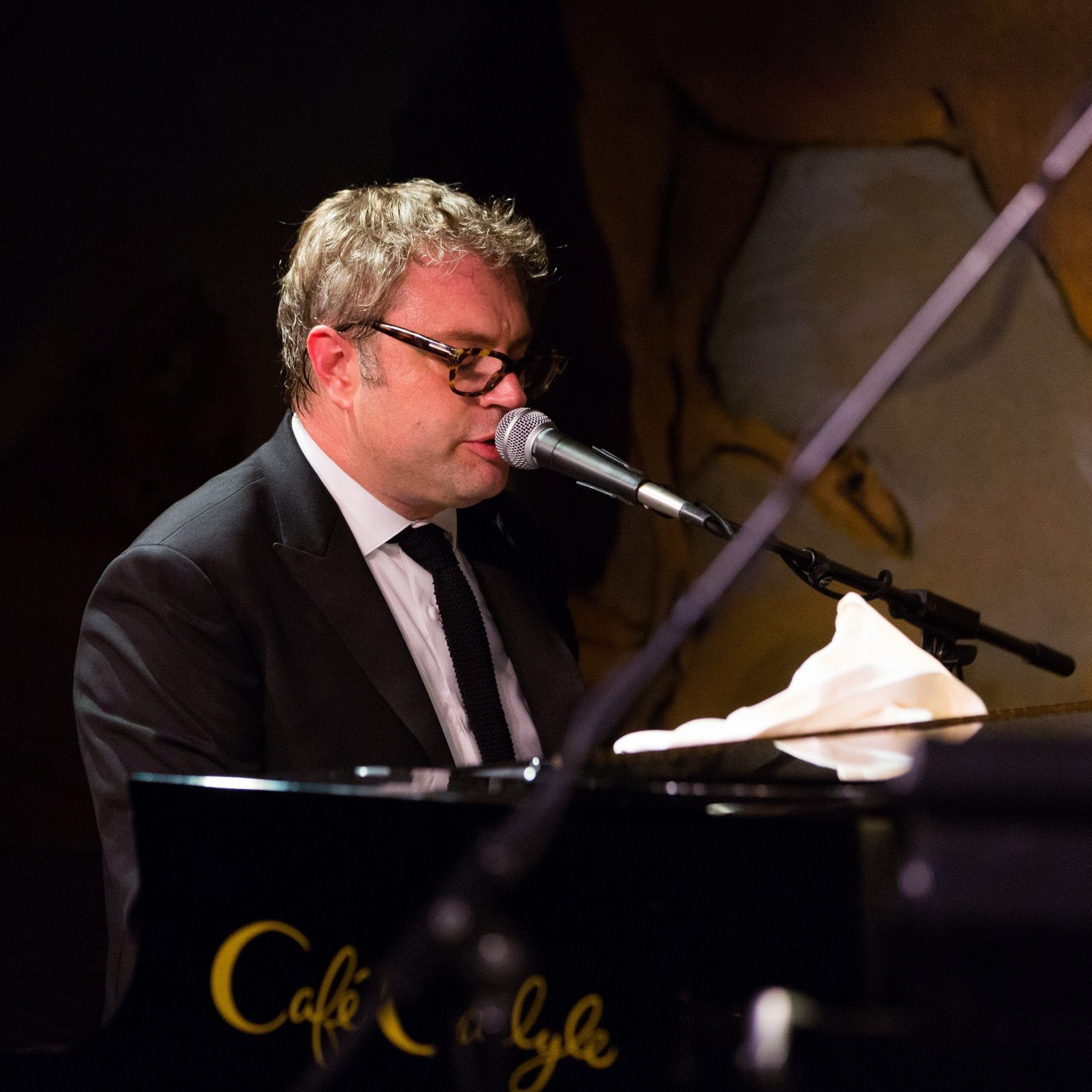 Steven Page at the Cafe Carlyle