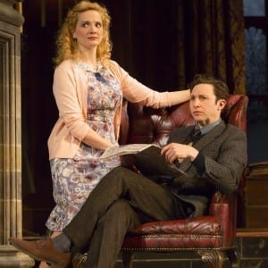 Jessical Beford & Adam Green in Agatha Christie's The Mousetrap