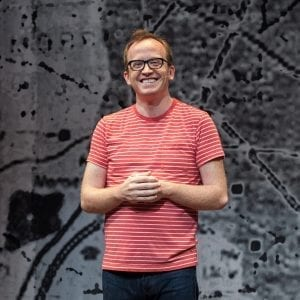 Chris Gethard: Career Suicide, Written and Performed by Chris Gerhard; Photo by Clay Anderson.
