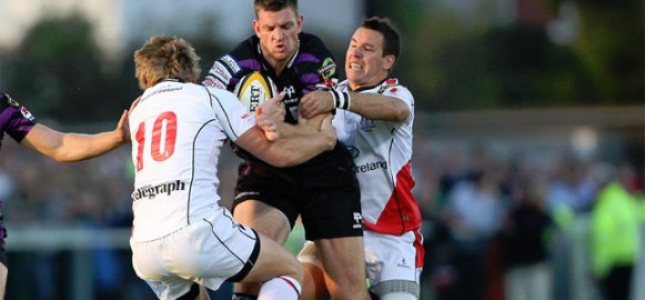 Niall O'Connor and Paddy Wallace, Ulster Rugby 