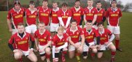 Club: Larne U19's in All Ireland Semi Final