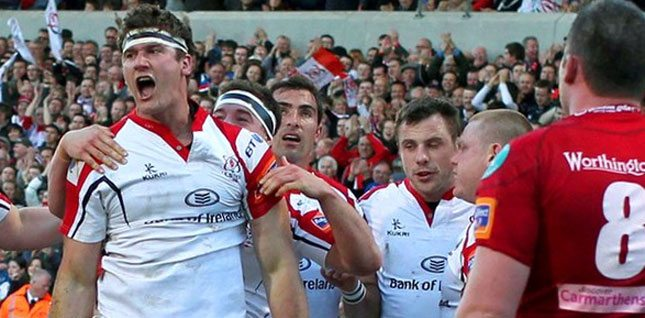 PRO12: Ulster 28 Scarlets 17