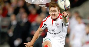 There's no change at No. 10 for Ulster as Jackson looks to bring the BOOM against Munster!  Picture Rugby Picture.