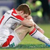 Photographer Colin Hayward picks out a dejected Paddy Jackson at the end of the game. But for the width of a post it would have been Ulster celebrating. You can view more pictures from the match over on rugbypicture.co.uk. Just click the picture above.