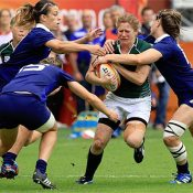 A fantastic individual try from Grace Davitt just wasn't enough as Ireland finished their World Cup campaign with an 18 - 25 defeat by France.