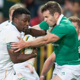 Ireland: Teams up for Final South African Test