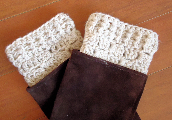Cozy Funky Easy Crochet Boot Cuff Pattern Free Picture Collection