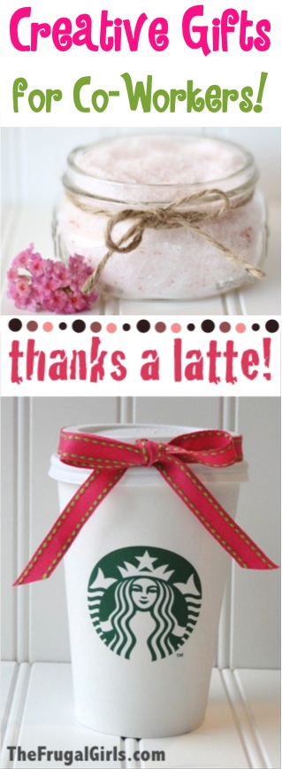 87 Creative Coworker Gift Ideas! {fun + inexpensive gifts} - The