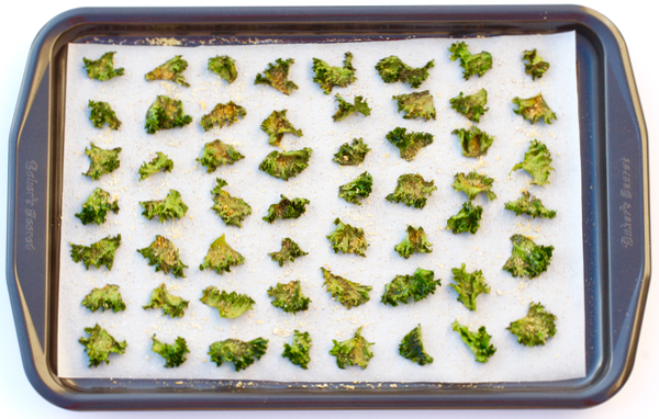 Garlic Parmesan Kale Chips Recipe! {Just 5 Ingredients} - The - free lined paper to print