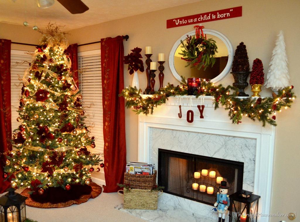 christmas tree mantel decorations - Rainforest Islands Ferry - christmas decorations for mantels